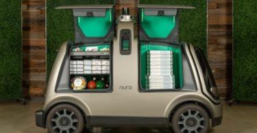 Nuro et Domino's Pizza veulent livrer avec une mini-fourgonnette autonome 1