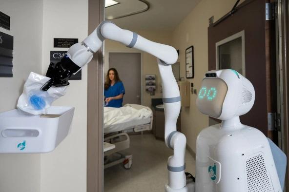 Moxi – Un robot pour aider les infirmières à l'hôpital 1