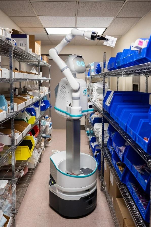 Moxi – Un robot pour aider les infirmières à l'hôpital 2