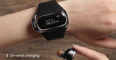 Wearbuds – Chargez vos écouteurs sans fil directement sur votre poignet