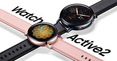 La Galaxy Watch Active2 avec un cadran tactile et LTE arrive