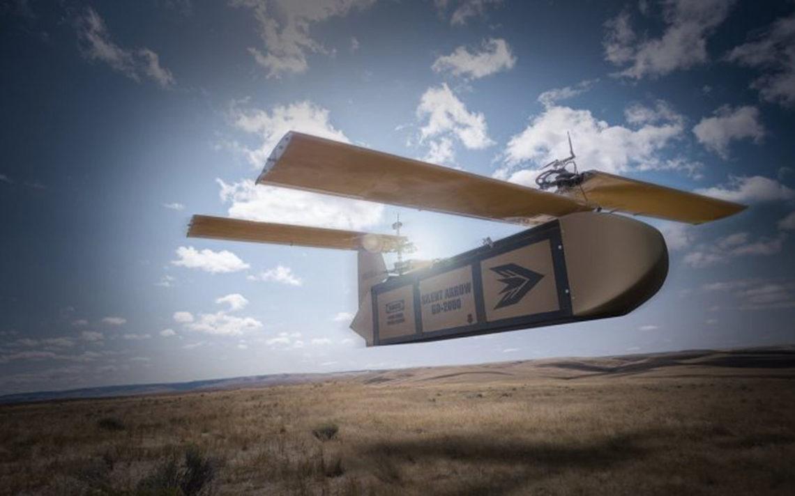 Le drone Silent Arrow est un drone de livraison très massif