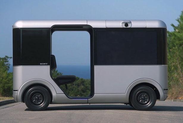 SC-1 Sociable Cart - Sony et Yamaha Motor s'associent pour concevoir un van destiné au divertissement 1