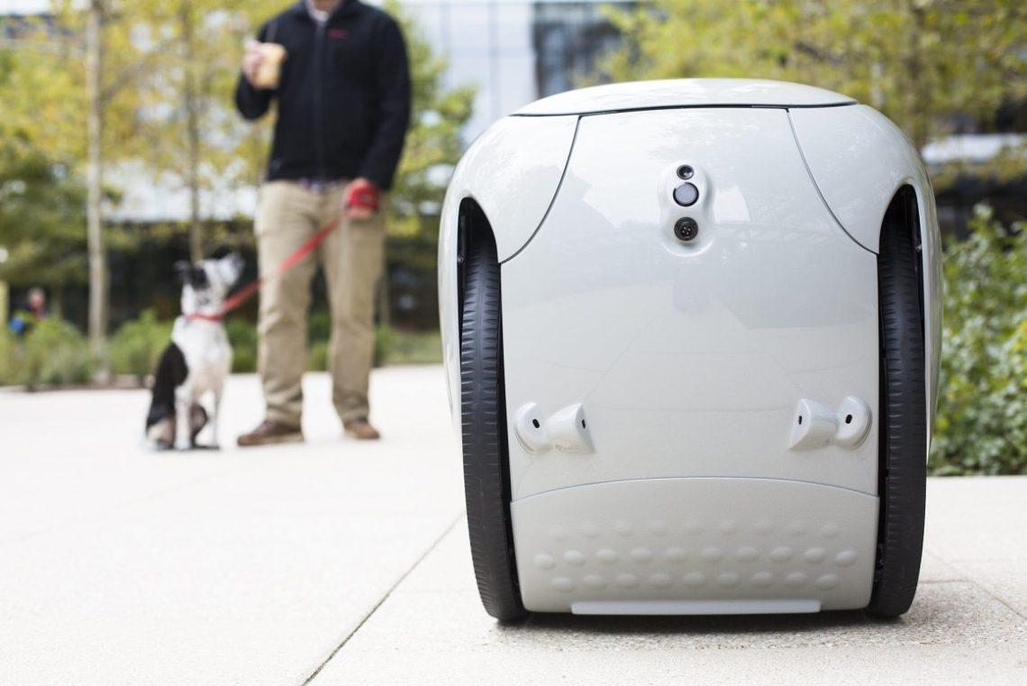 Gita – Le robot de livraison de Piaggio Fast Forward