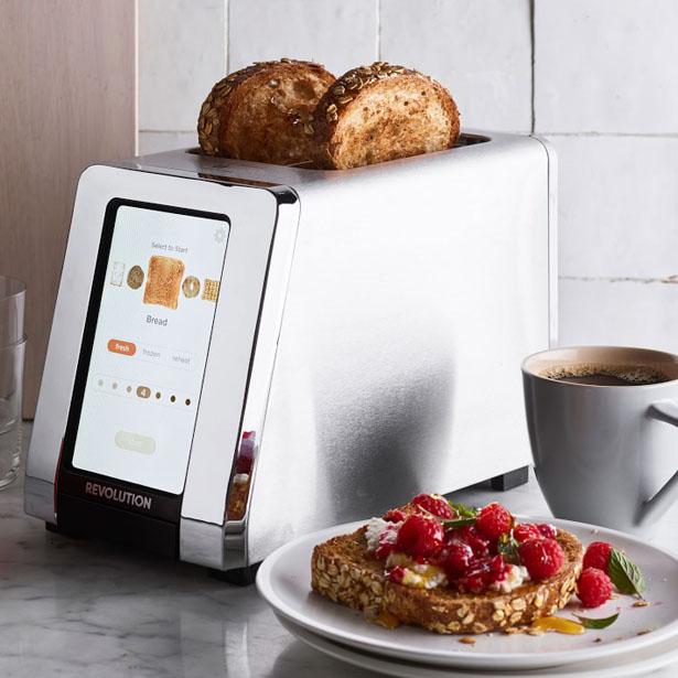 Revolution Cooking dévoile un grille-pain intelligent ultra rapide