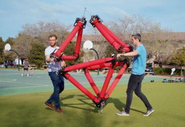 Ce robot gonflable aux formes changeantes peut attraper des objets et se déplacer seul