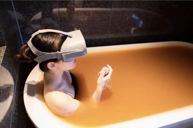 Les stations thermales japonaises vous permettent de vous immerger dans leurs bains en RV