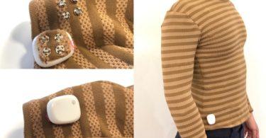 Ce pull électronique du MIT suit les signes vitaux de ceux qui la portent
