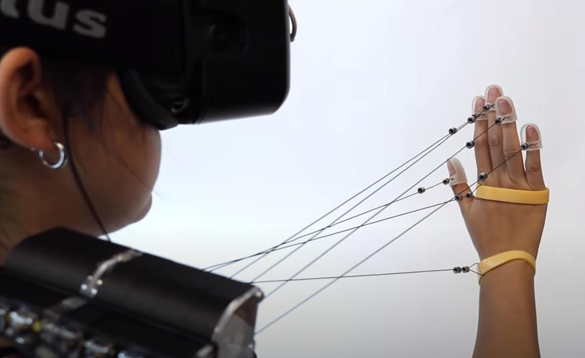 Wireality réalité virtuelle vous permet de toucher des objets