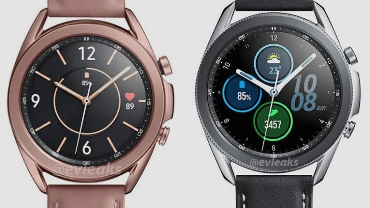 Spécifications de la Samsung Galaxy Watch 3