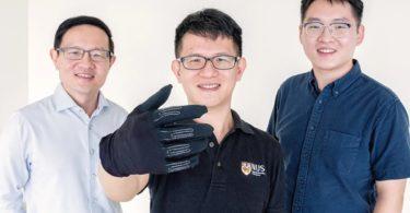 InfinityGlove - Un gant de jeu plus léger et plus doux avec des capteurs de métaux liquides