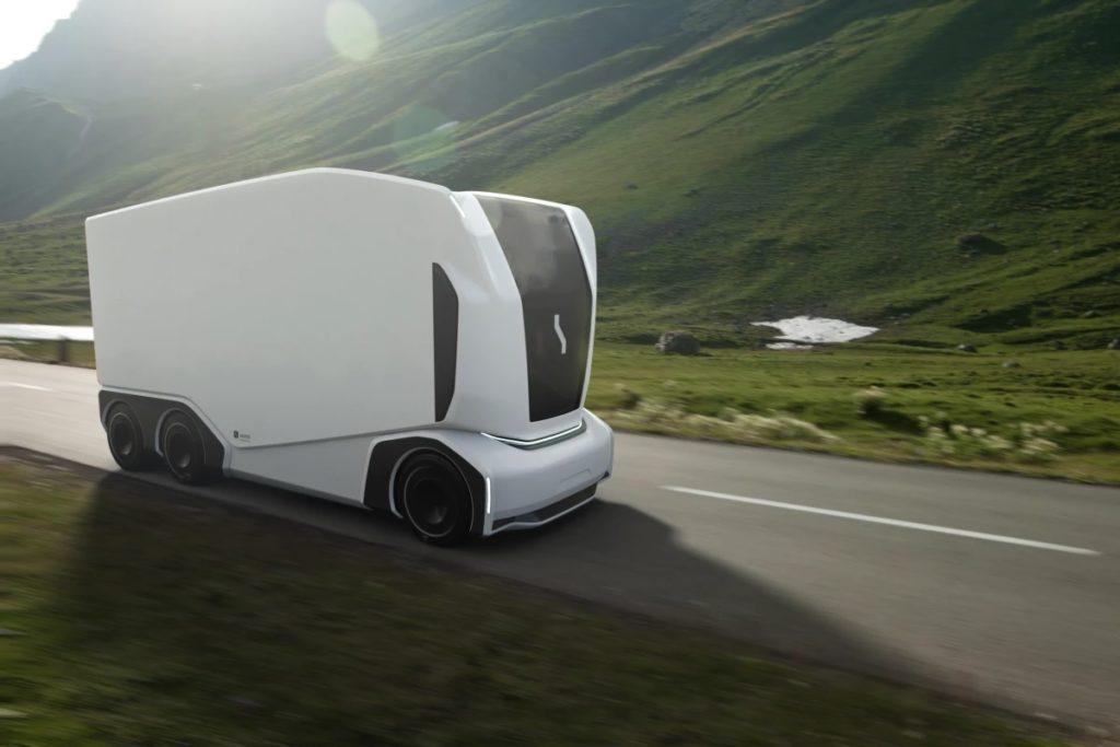 Le camion autonome Pod d'Einride sera bientôt disponible