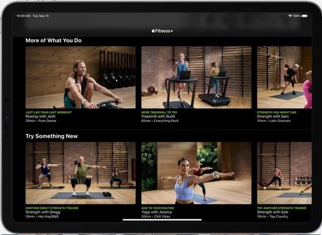 De quoi ai-je besoin pour Apple Fitness+