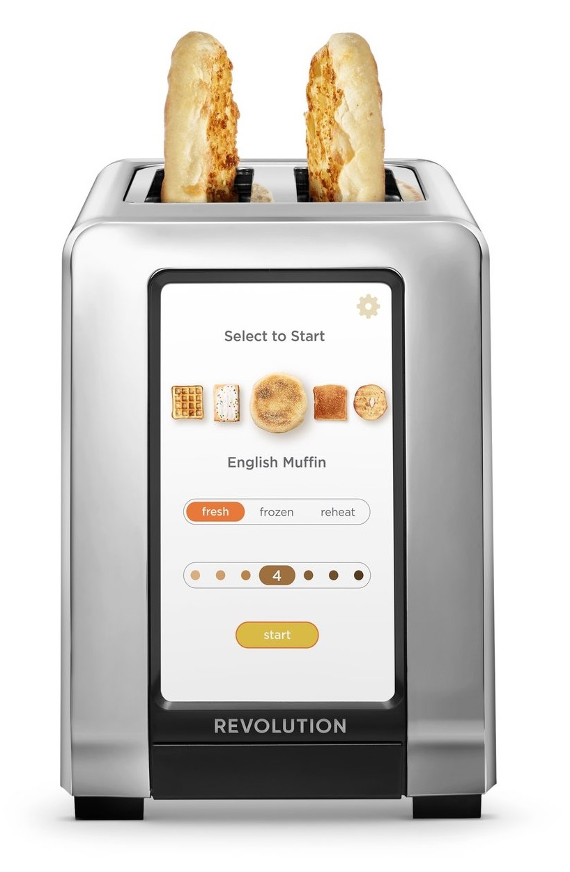 grille-pain intelligent R180 High-Speed Smart Toaster de Revolution Cooking