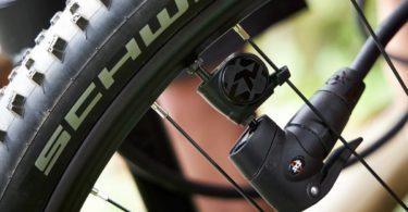 Airspy surveille la pression des pneus pendant que les cyclistes roulent