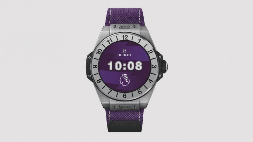 Hublot lance la smartwatch Big Bang e Premier League 1