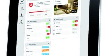 ipad Myfox Home Control 2