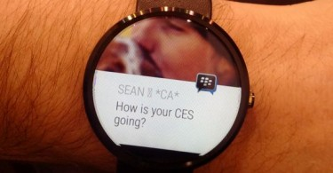BBM Android Wear