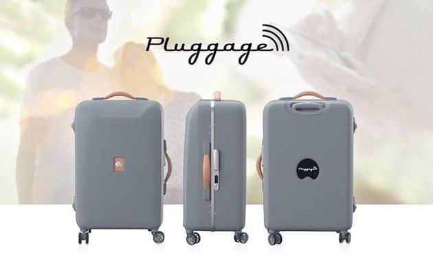 Pluggage valise connectée