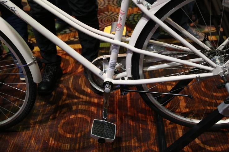 pédale connectée Connected Cycle