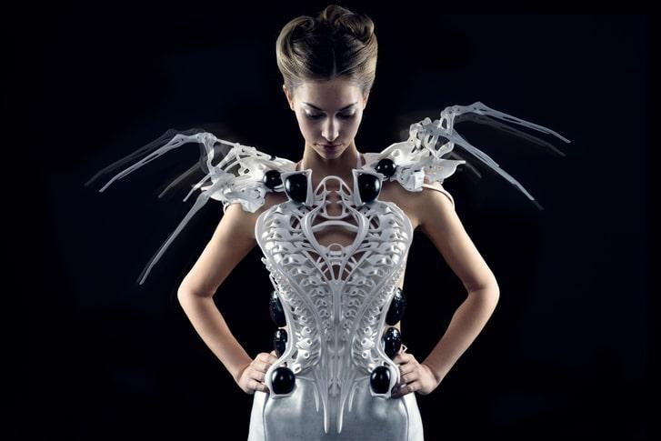 smart spider robe connectée