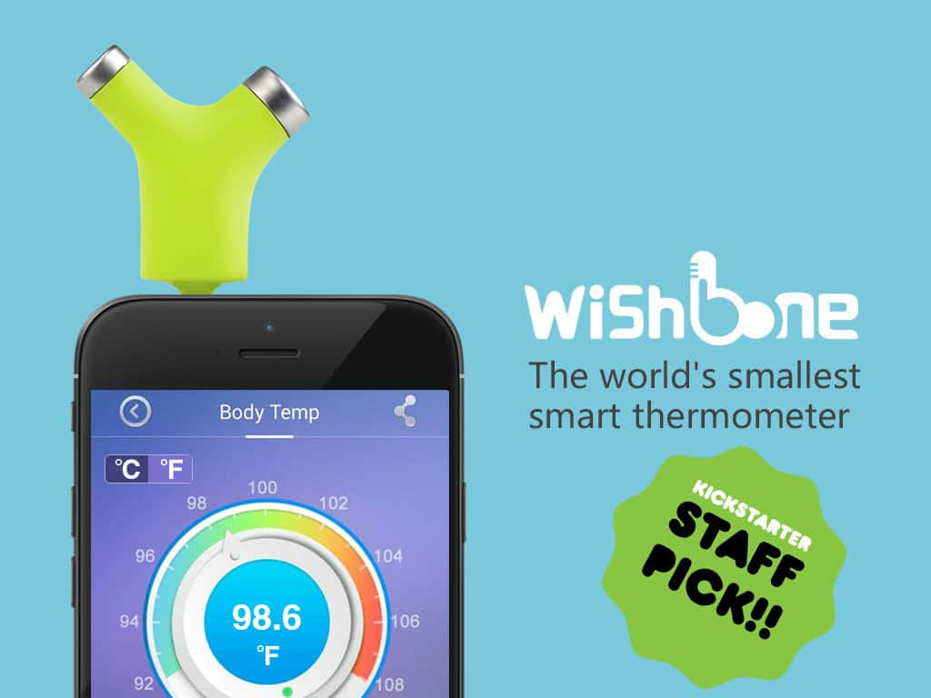 thermomètre connecté Wishbone
