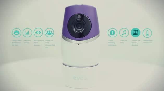 Evoz caméra connectée parents