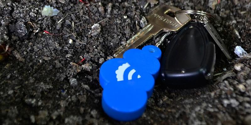 WiKey porte clé connecté
