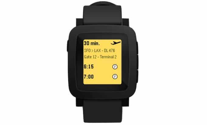 smartwatch Pebble couleur