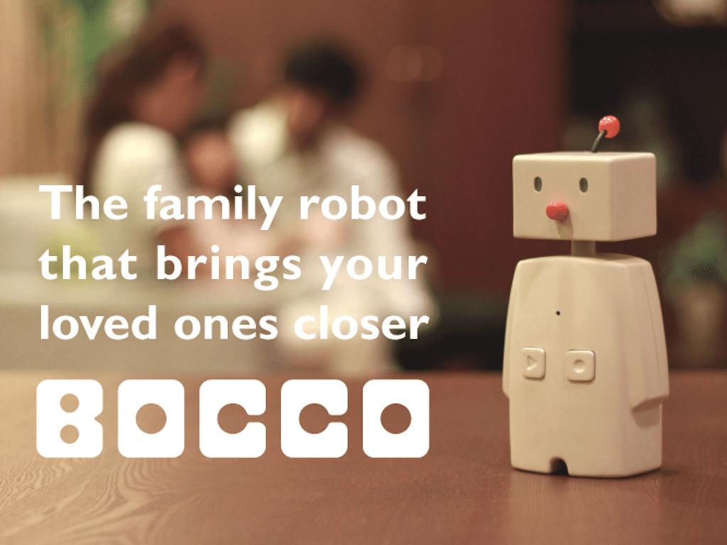 Bocco robot connecté maison