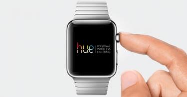 Philips Hue apple watch