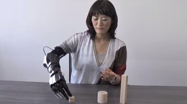 handiii bras bionique connecté