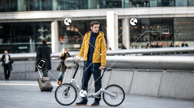 vélo connecté JIVR