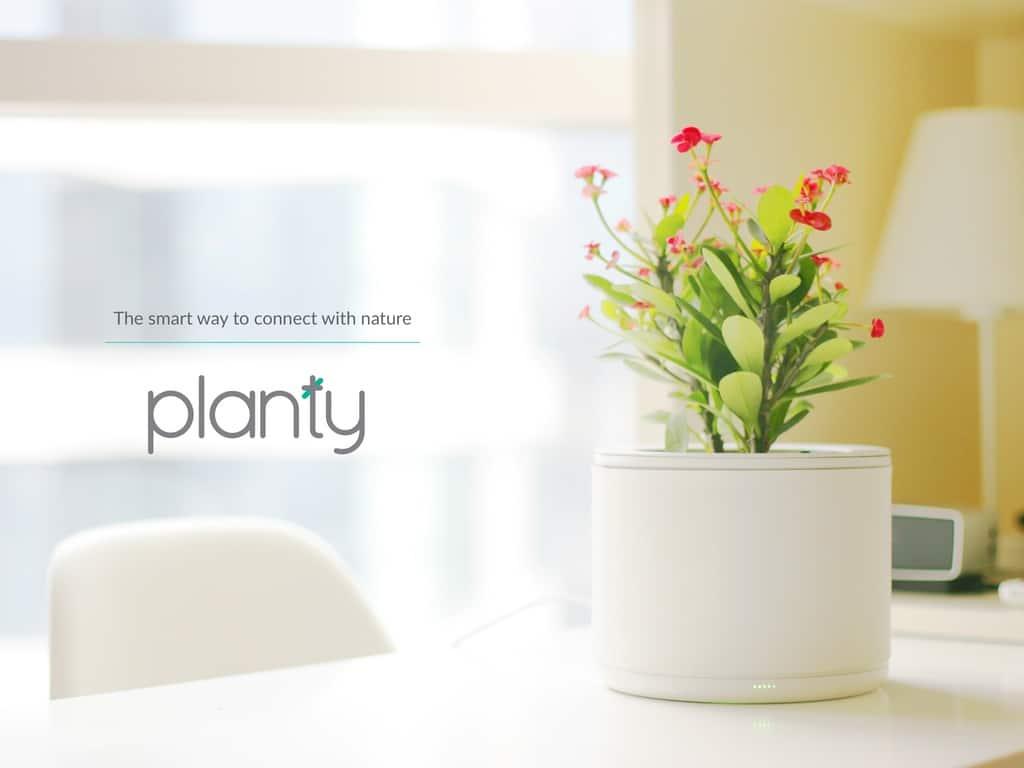 Planty pot fleurs intelligent