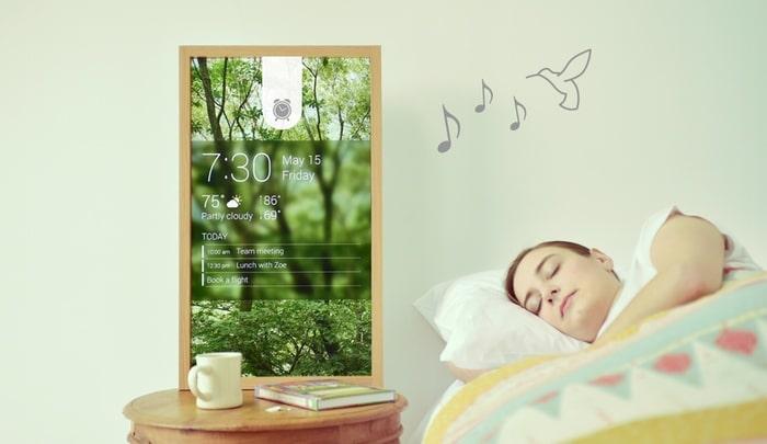 Atmoph Window tableau connecté intelligent