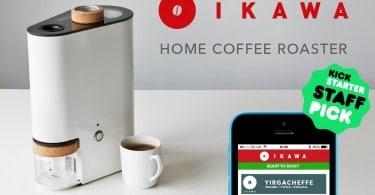 Ikawa machine torréfacteur à café connecté