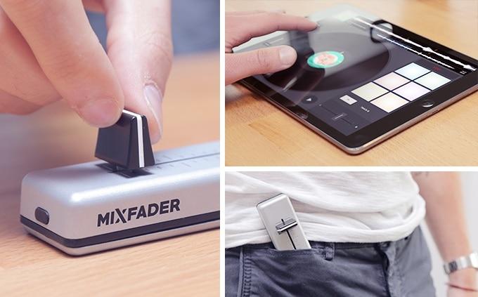 Mixfader objet connecté DJ