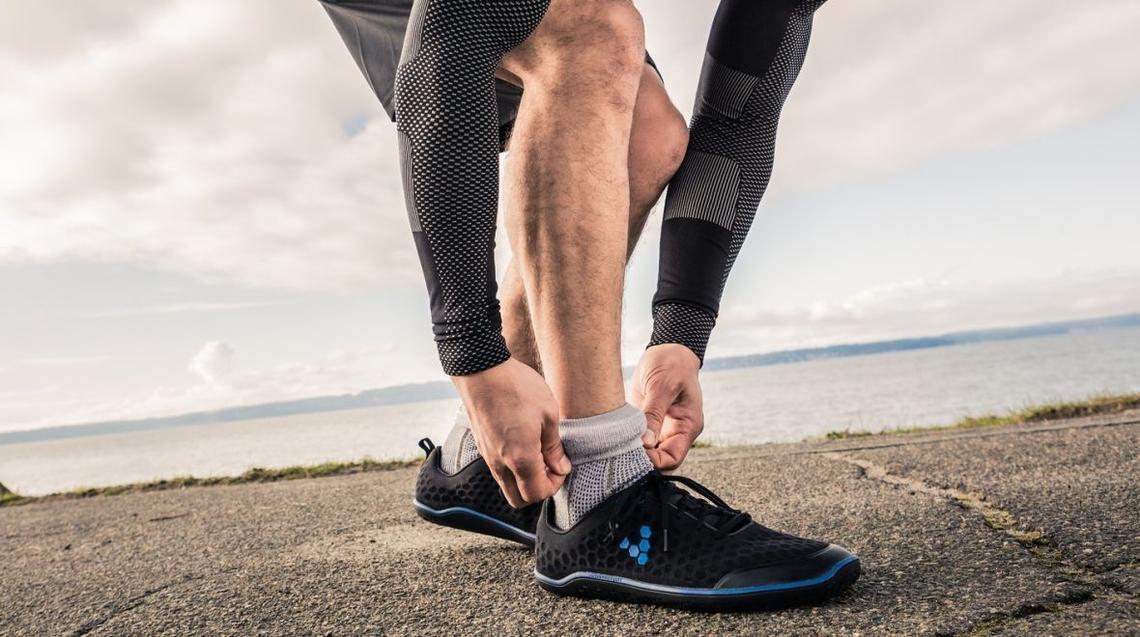Sensoria chaussettes connectées course