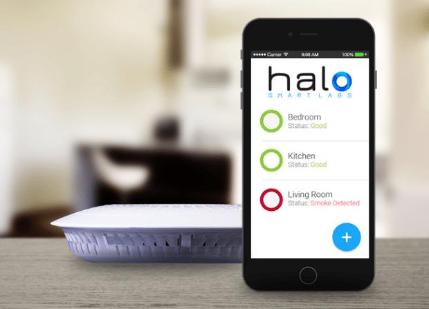 détecteur de fumée intelligent Halo