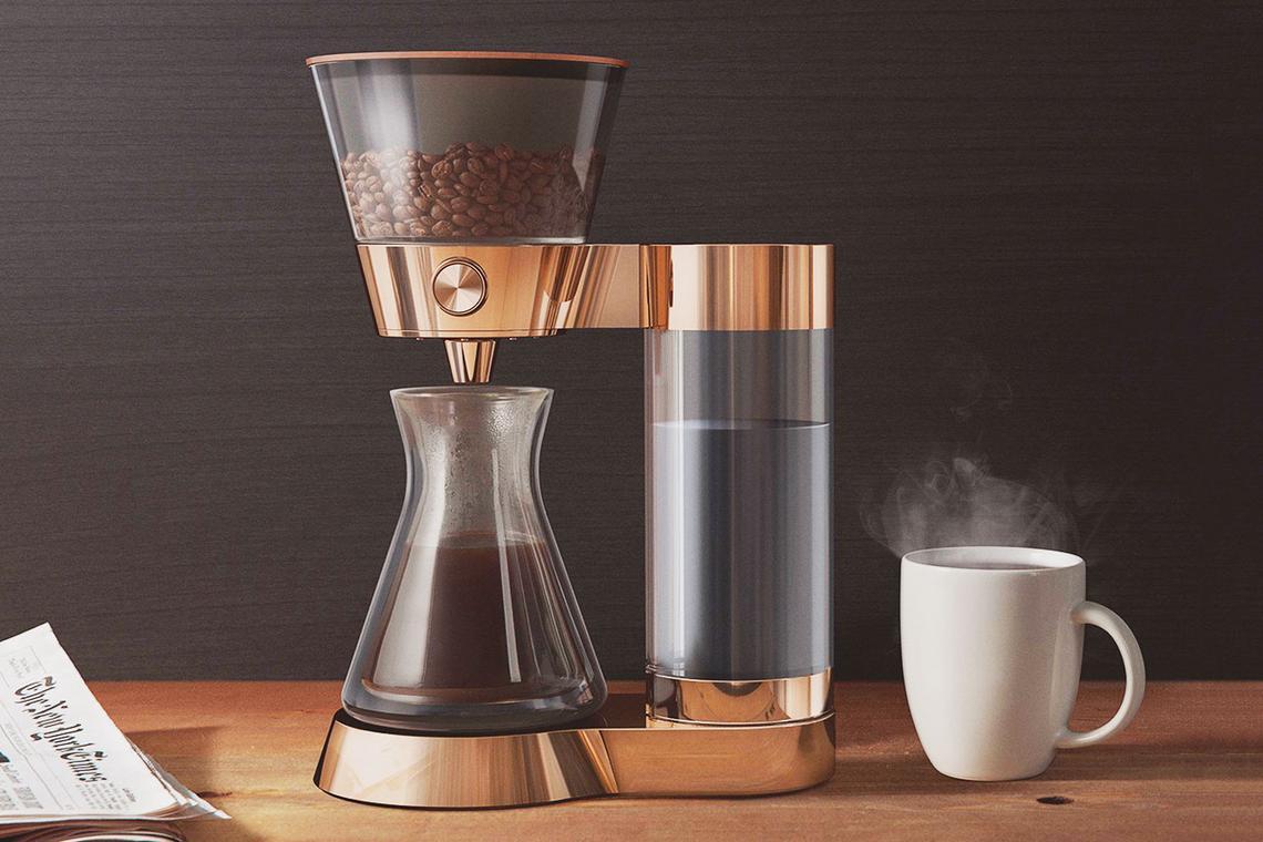 machine à café connectée Poppy Pour-Over
