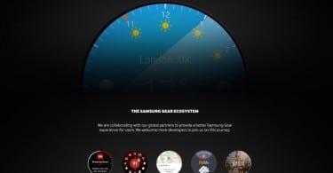 smartwatch ronde samsung gear