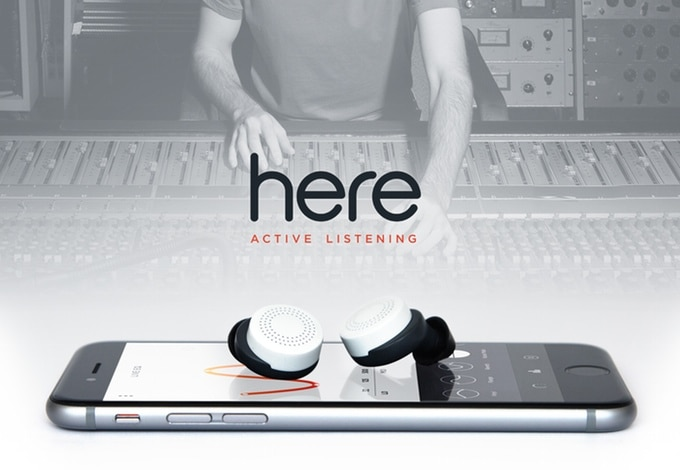 Here Active Listening hearable