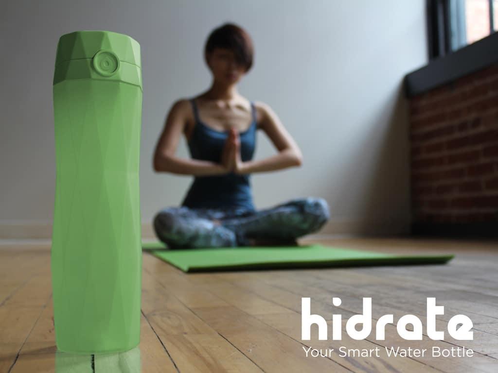 HidrateMe bouteille intelligente connectée