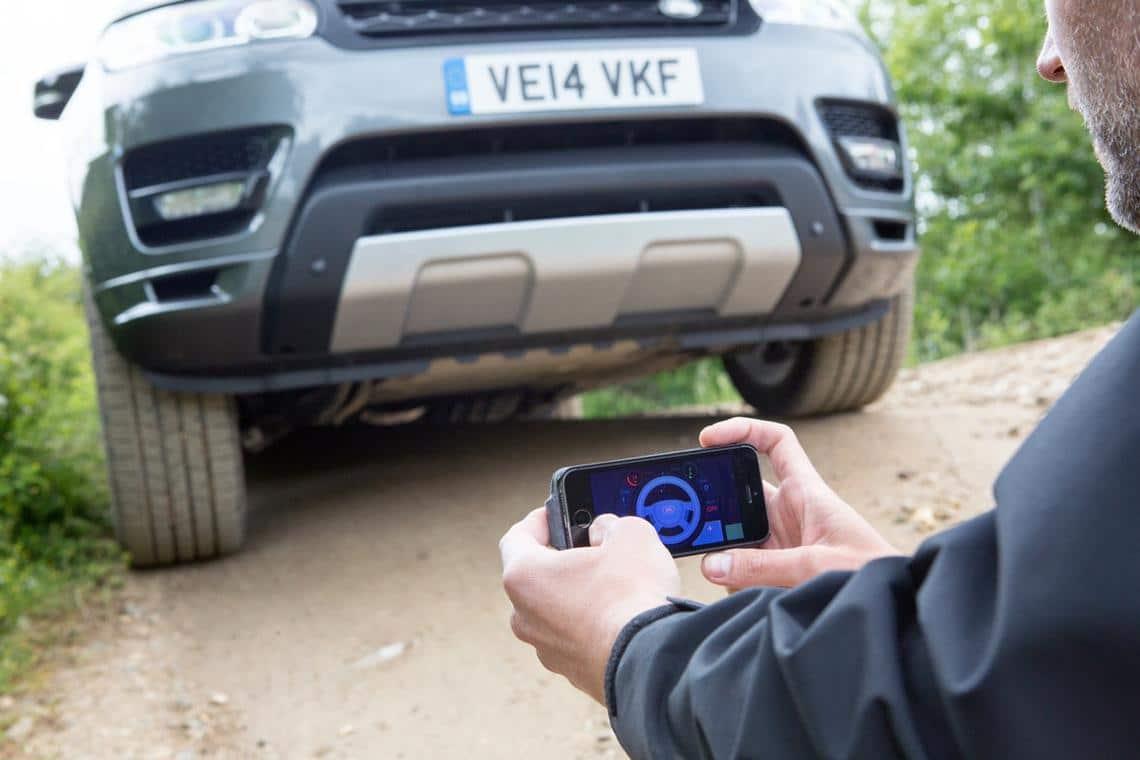 Smart Car Range Rover prototype application
