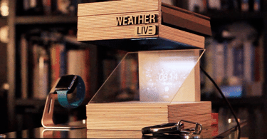 Weather LIVE horloge connectée hologramme