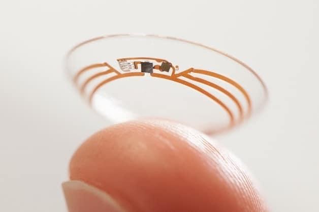 lentilles intelligentes Google