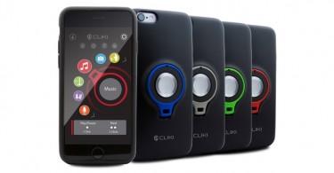 CLIKI coque smartphone bouton connecté amovible