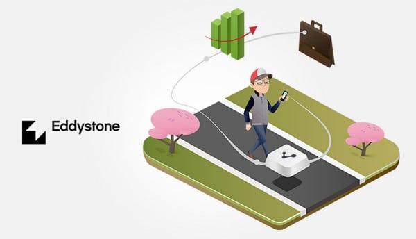 Eddystone beacon google