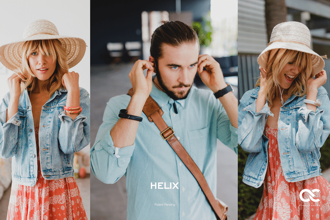 Helix bracelet connecté écouteurs stéréo