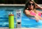 Next Bottle bouteille d'eau connectée chargeur haut-parleur